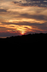 istria groznjan croatia (just_analog) Tags: sunset sea clouds sonnenuntergang wolken croatia sigma istria hrvatska groznjan istrien nikond700