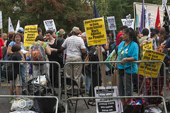 ClimateMarchSM20140921_236 (DawnOne) Tags: new york city nyc trees copyright toronto toxic against birds bread dawn march vermont theatre puppet photos killing cut bees protest butterflies down canadian peoples linda oil change waste sands dying habitat ponds gmo hammond fo