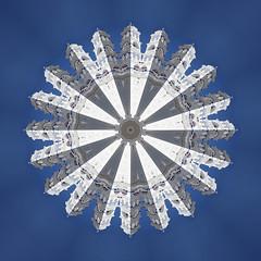 Timiou Stavrou, Parissa (Alex Bamford) Tags: tower church kaleidoscope santorini parissa alexbamford timioustavrou alexbamfordcom kaleidotecture