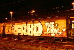 (BRN Propagandrt) Tags: photography graffiti switzerland shots swiss trains sbb cargo freight wholecar brn propagandart