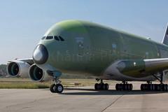 Etihad A380-800 (Rami Khanna-Prade) Tags: plane airport aircraft tail airbus toulouse aeroport avion tls wingtip derive etihad etd airbusindustrie newcolours a380800 a388 lfbo airbusa380861 aeroporttoulouseblagnac fwwab toulouseblagnacairport msn170 2nda380foretihad