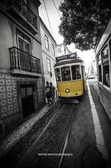 Eltrico 28E - Lisboa (Michele Cannone) Tags: portugal public lisboa tram transportation 28 lisbona portogallo electrico 28e
