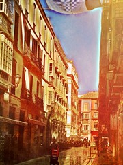 Old town Malaga . Andalucia