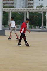 Skaters (Ray Cunningham) Tags: park people skating north korea skate roller recreation pyongyang dprk coreadelnorte