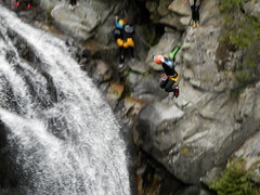 Canyoning in Vallorcine (camilla.ivesdal) Tags: mountains waterfall jump chamonix canyoning vallorcine