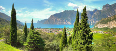italy panorama garda italia fuji fujifilm hdr lakegarda newfrontier torbole panoramicview x100 torbolesulgarda x100s