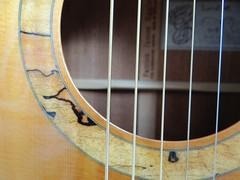 Patrick James Eggle Hand built guitar (popinjaykev - living the Italian dream) Tags: acoustic electro guitar handmade handbuilt luthier patrickjameseggle awesome