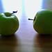 Apples. Duo. Senile