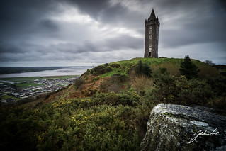 Scrabo Tower - Guardian of North Down. Northern Ireland.