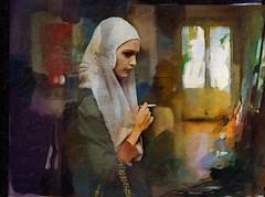 a woman (skizo39) Tags: woman collage layers art digitalprocessing digitalart digitalpainting photomanipulation colors colorful graphical design creation artistic