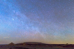 Milky Way over the Painted Desert (Carl Cohen_Pics) Tags: apachecounty arizona painteddesert concho holbrook snowflake milkyway stars shootingstars meteor spring nightsky nightphotography night nature mesa cassiopeia astrophotography canon sigmaartlens sigma sigma24mmf14dghsm|art
