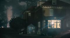 How Close am I (C A Soukup) Tags: cinematic fog house moody nightphotography presidion widescreen