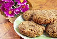 Crispy Flourless Flax Cookies (Vegan And Gluten-Free) (myhealthydessert) Tags: crispy cookies baking vegan glutenfree recipe food dairyfree delicious dessert