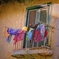 Havana Balcony 16 (Artypixall) Tags: cuba havana balcony window shutters clothes clotheslines facade streetscene faa getty