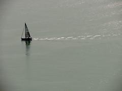 Montemarcello - barca (anto_gal) Tags: liguria laspezia 2017 ameglia montemarcello mare barca controluce