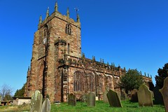 St. Boniface Church Bunbury (Eddie Crutchley) Tags: europe england cheshire bunbury outdoor village church blueskies simplysuperb greatphotographers