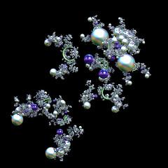 GR-PS-BS2 Jeweled (FractallyAware) Tags: fractallyaware fractal 3dfractalart incendia