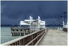 Rain approaching Woody Point-4= (Sheba_Also 11.8 Millon Views) Tags: rain approaching woody point