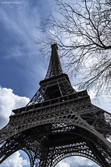 Tour Eiffel (stefano.nardi) Tags: paris nikon samyang 14mm28 sky clouds cloudscape tour eiffel france cityscape view colors photography photo urbanphotography street streetphotography travel travelling flickrtravelaward