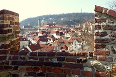 Through the Ramparts (Hythe Eye) Tags: prague czechreplublic praha ramparts praguecastle view rooftops