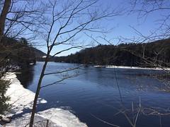 Saratoga County Adirondack Rivers and Dams (ArgyleMJH) Tags: hudsonriver spierfalls moreau saratogacounty newyork moreaulakestatepark adirondacks blueline palmertownrange