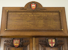 Memorials for the Norwich Union Fire Insurance Society