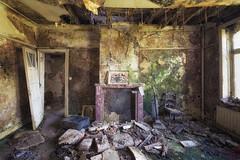 Décoration végétale (Photonirik) Tags: urbex decay urban exploration oblivion abandoned abandonné oubli forgotten ue