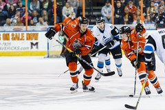 "Missouri Mavericks vs. Wichita Thunder, March 25, 2017, Silverstein Eye Centers Arena, Independence, Missouri.  Photo: © John Howe / Howe Creative Photography, all rights reserved 2017. • <a style=""font-size:0.8em;"" href=""http://www.flickr.com/photos/134016632@N02/33544445852/"" target=""_blank"">View on Flickr</a>"