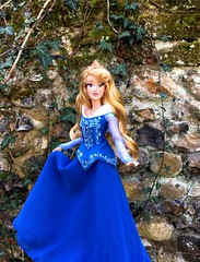 Gold of Sunshine in her Hair (MaxxieJames) Tags: aurora princess sleeping beauty disney doll collector designer classic store briar rose