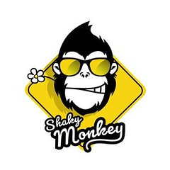 Johnny the Monkey is how it all started. He is the cover model for our very first Zoomigurumi book. This adorable m… … (ShakyMonkey) Tags: tshirt shakymonkey tee design style fashion