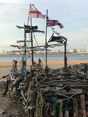 Black pearl pirate ship wirral (alex kerr aviation photography) Tags: shipwreck wallasey egramont rivermersey merseyside seacombe pirateship newbrighton wirral blackpearl