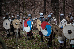 Get ready! (Crones) Tags: canon 6d canoneos6d viking vikings czech czechrepublic praha prague canonef24105mmf4lisusm 24105mmf4lisusm 24105mm weapon shield sword