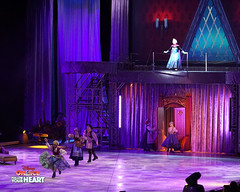 Queen Elsa, Open up the gates (DDB Photography) Tags: disney disneyonice ice waltdisney disneyphoto disneypictures disneycharacters followyourheart mickey mickeymouse minnie minniemouse mouse feldentertainment donaldduck duck goofy figure skate figureskate show iceshow prince princess princesses castle animation disneymovie movie animatedmovie fairytale story anna elsa elsathesnowqueen olaf kristoff sven hans princehans arendelle frozen loveisanopendoor letitgo