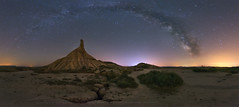 Remembers of Bardenas Night (sgsierra) Tags: bardenas reales arguedas night vía láctea milky way castil de tierra nocturna panorámica pano