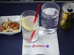 201701026 AB7248 TXL-JFK lunch (taigatrommelchen) Tags: 20170105 flyingmeals airplane inflight meal drink aperitif business ber airberlin ab7248 a330200 dabxd txljfk