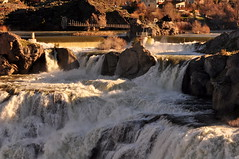 Shoshone Falls in the morning light (Great Salt Lake Images) Tags: shoshonefalls snakeriver twinfalls idaho