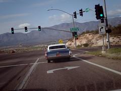 Cadillac on 89A & Mingus (EllenJo) Tags: april2017 ellenjo pentaxqs1 verdevalley arizona az 89a cottonwoodarizona cadillac generalmotors vintagecar driving april1 2018 automobile fromsedonatocottonwood mingus