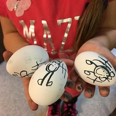 Eggs 😍 #day16 #egg #fmspad #fmsphotoaday #fms_egg #HappyEaster #April2017 #littlebitsof_life #yourdailysnap #nothingisordinary_ #nothingisordinary #sunnypicchallenge #shinephotochallenge #our_everyday_moments (kelli.bergin) Tags: egg day16 eggs instagramapp square squareformat iphoneography