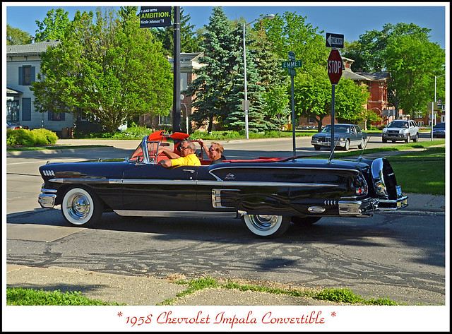 convertible 1958chevroletimpala 2014depottown