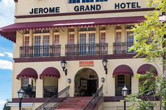 The Asylum Restaurant in the old Jerome Grand Hotel, Jerome, AZ (kirkmiles) Tags: arizona fishing az highschool jerome alumni 73 mcclintock classof1973 jeromegrandhotel theasylumrestaurant