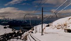 Rigi Railway (J_Piks) Tags: alps schweiz switzerland suisse railway bahn cog rigi kulm