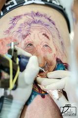 Super Einstein (PauloFotografoSantista) Tags: brazil tattoo dof einstein super shooting vicente sao realismo japa fotografando baixada santista