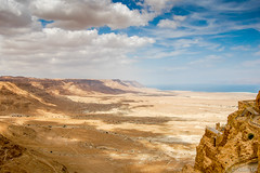 Clouds over Qumran (AdamTje) Tags: israel nationalpark nikon qumran 2008 deadsea d40