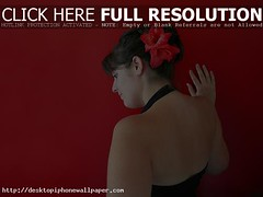 Red - Autos Wallpapers 2014 (Sadia Komal) Tags: red portrait flower fleur girl beautiful 1025fav 510fav rouge back topv555 gorgeous personalfavorite fille interestingness66 i500