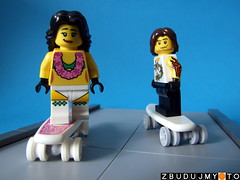 Longboard LEGO Crew (SEKUAcreations) Tags: california boy girl truck lego pair bricks wheels cruising slide drop carving skaters deck longboard skater minifig minifigs vignette concave moc pintail longboards longboarding longboardcrew zbudujmyto
