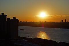 20140621_10a (mckenn39) Tags: nyc urban water sunrise nj hudsonriver nystate