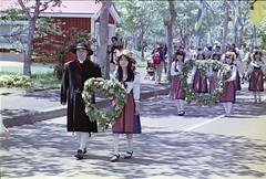 Just married, Midsummer fest (threepinner) Tags: summer japan hokkaido pentax iso400 negative   fa hokkaidou selfdeveloped 100300mm northernjapan mz7 tobetsu midsummerfest  swedenhills