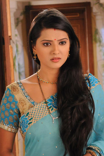 Kratika Sengar Tv Actress Long Hairstyle A Photo On Flickriver