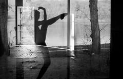 street door people blackandwhite bw ballet woman sun france reflection art abandoned girl monochrome silhouette architecture training canon photo dance model femme dream lac danse reflet porte mouvement simpleshoot florentchretien florentchrétien