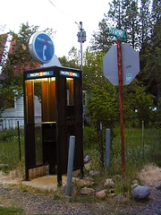 Back Roads Phone Booth (totalescape.com) Tags: california foothills mountains rural woods community phonebooth deep hills communication chico sierras sierranevada backroads signal volcanic forests smalltown calls plumas scenicdrives redmountains stirlingcity cellcoverage